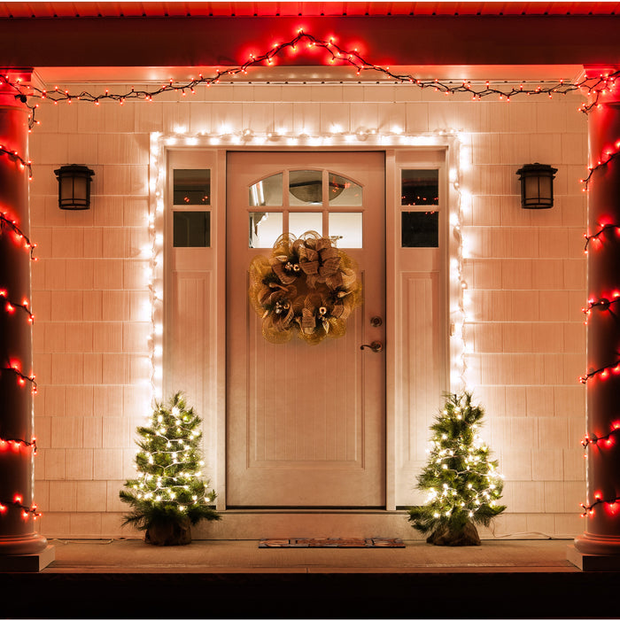 Welcoming Holiday Entryway