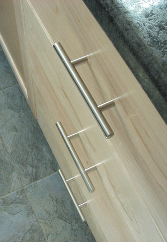 Satin Nickel Bar Pulls
