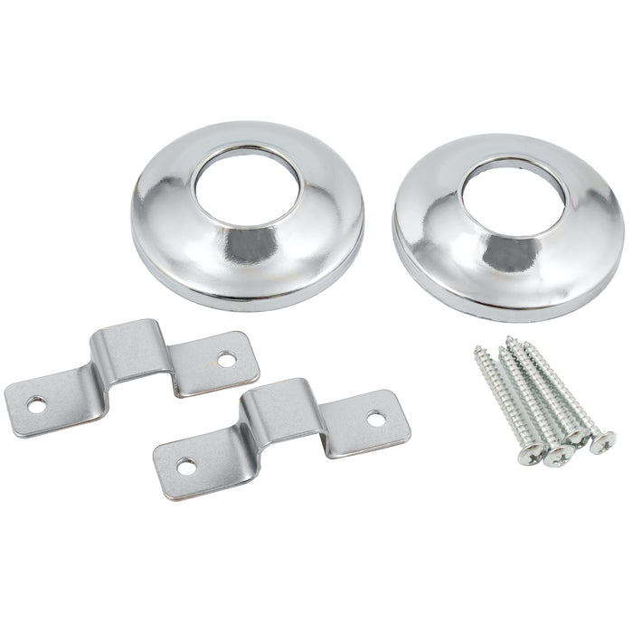 Shower Rod Flange Set