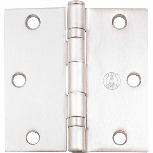 Ball Bearing Hinge - Square Corner