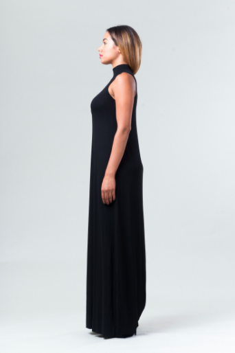 Amanda Maxi Dress - Black - Reina Valentina