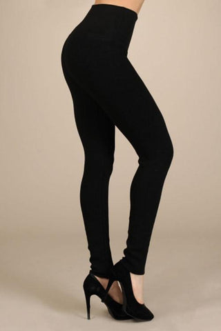 Leggings - Black - Reina Valentina