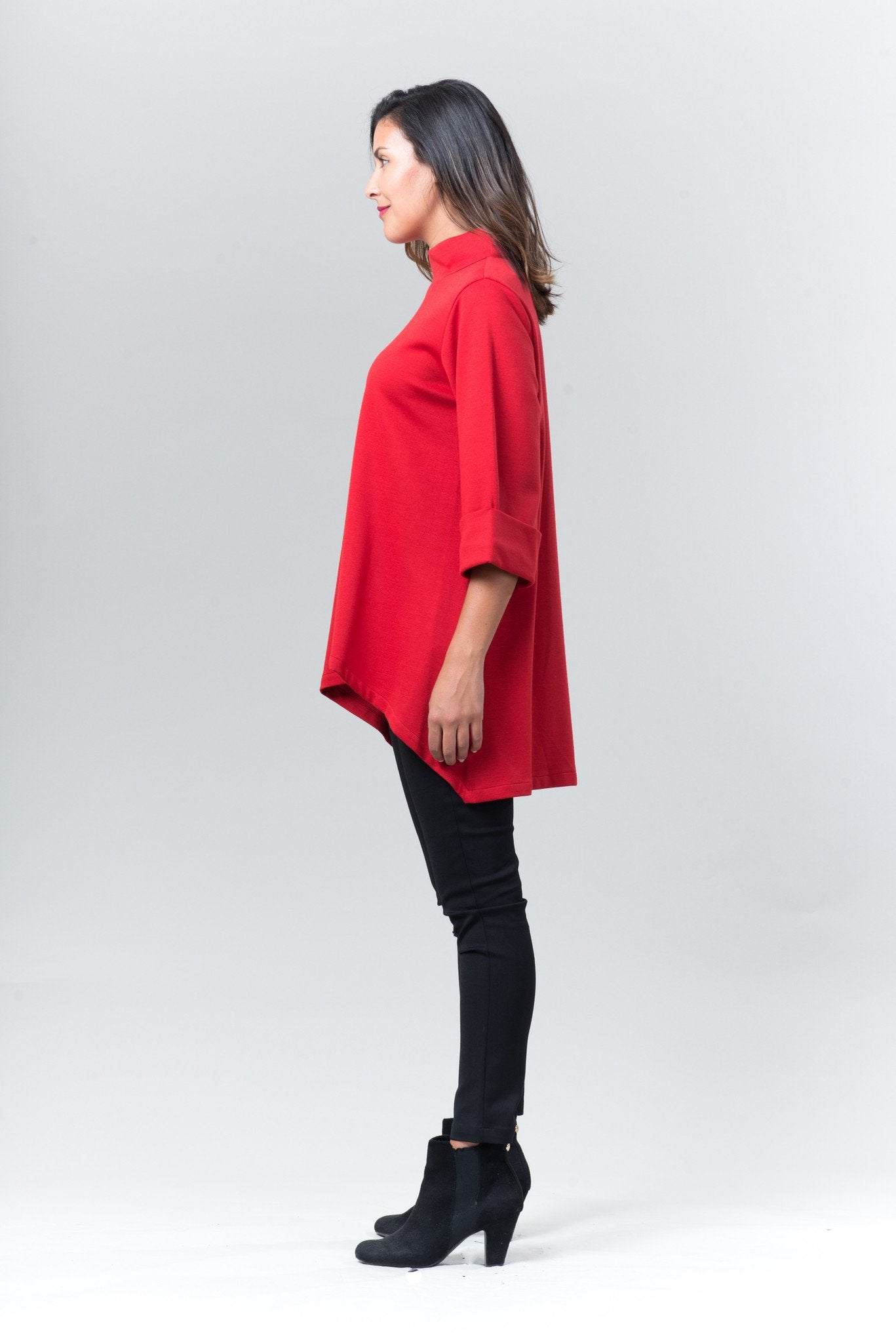 Stacey Jacket - Red - Reina Valentina