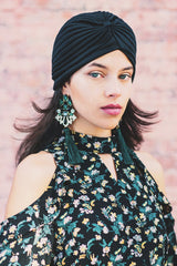Emerald Aisle Tassel Earrings - Reina Valentina