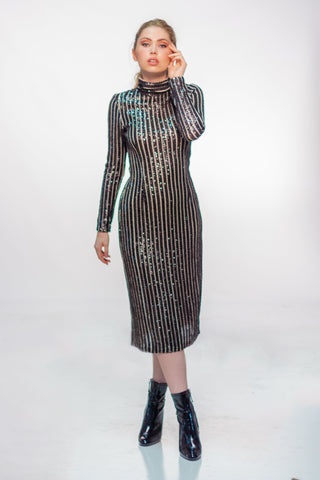 Akita Sequin Dress - Reina Valentina