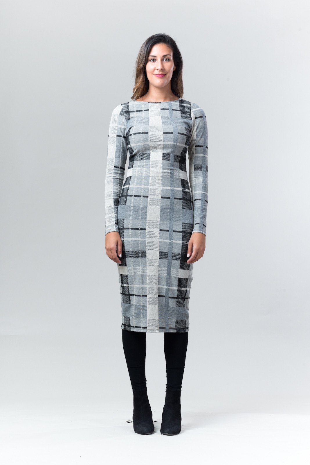 Izzy Plaid Dress