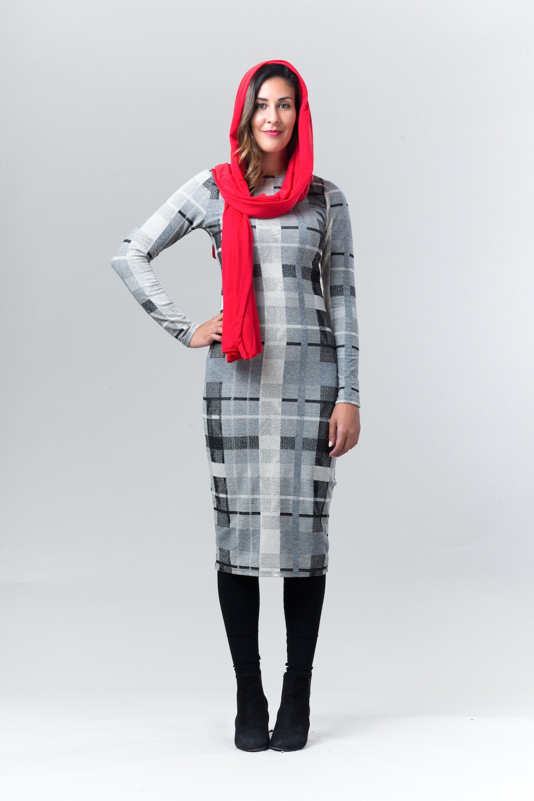 Izzy Plaid Dress - Reina Valentina