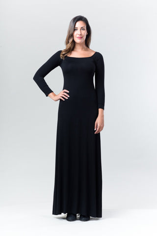 Larisa Dress - Black - Reina Valentina