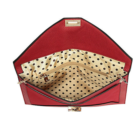 Liz Envelope Clutch - Red - Reina Valentina