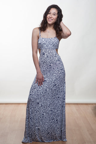Leo Cut-Out Maxi Dress - Reina Valentina