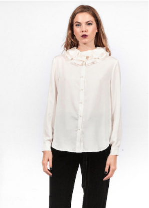 New Standard Blouse - Cream