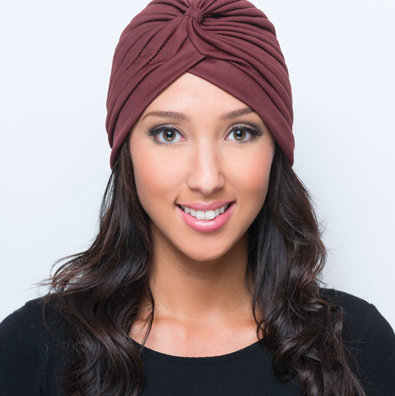 Brown Turban - Reina Valentina