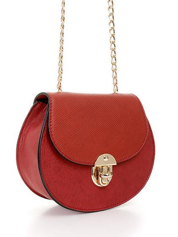 Belle Cross Body Bag - Red - Reina Valentina