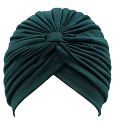 Forest Green Turban - Reina Valentina
