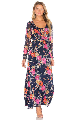 Night Persimmon Maxi - Reina Valentina