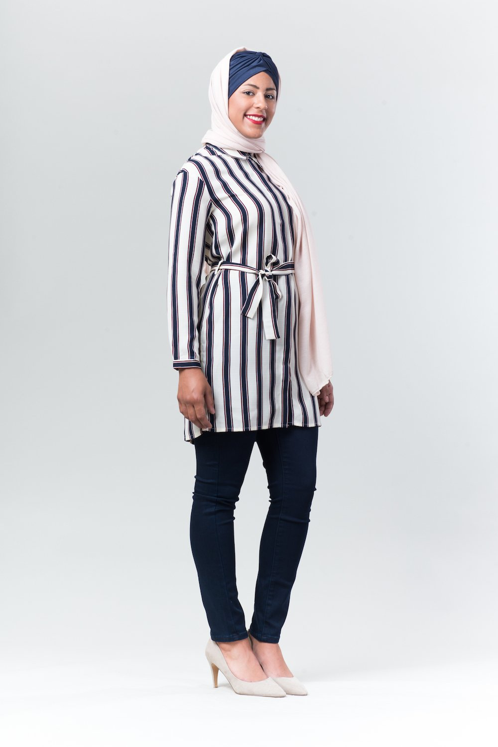 Striped Tunic - Reina Valentina