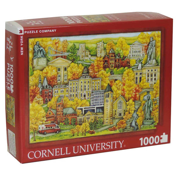 Cornell University in the Fall