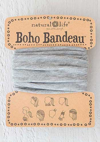 Boho Bandeau - Heather Grey