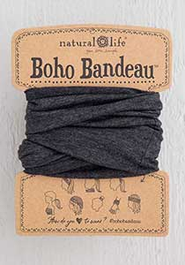 Boho Bandeau - Heathered Charcoal