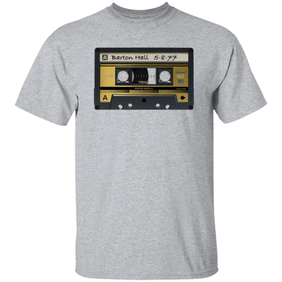 Barton Hall Cassette T-shirt (Adult)