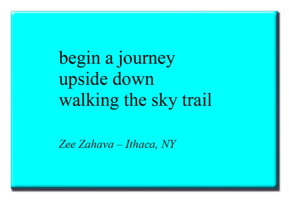 Begin A Journey 2X3 Magnet