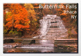 Buttermilk Falls Autumn 2X3 Magnet