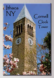 Cornell Clock Tower 2X3 Magnet