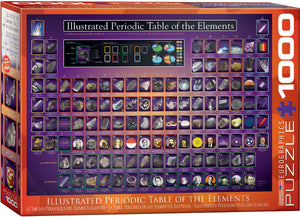 Illustrated Periodic Table Jigsaw Puzzle