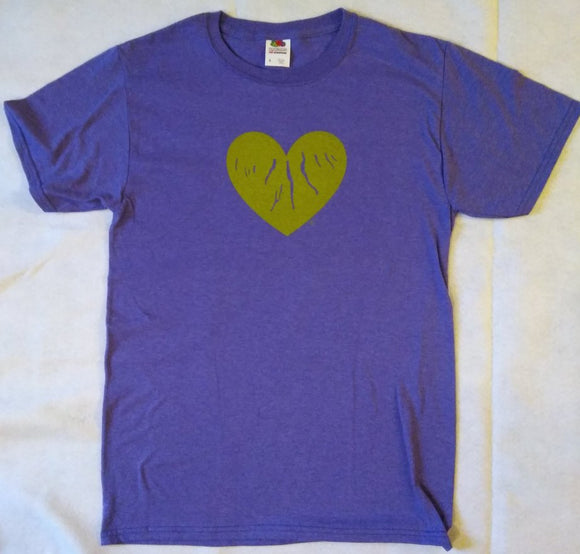 Purple T-Shirt (Adult) - Green Heart of the Finger Lakes