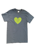 "Adult Blue ""Green Heart of the Finger Lakes"" T-shirt"