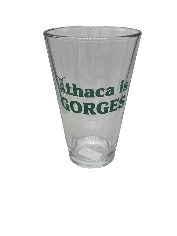 Ithaca Is Gorges Pint Glass