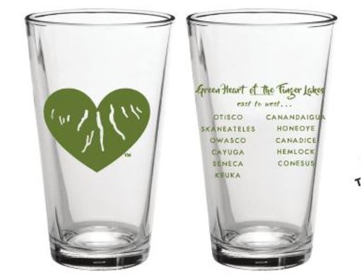 Green Heart of the Finger Lakes - Pint Glass