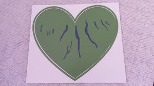 Bumper Sticker - Green Heart of the Finger Lakes