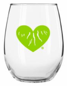 Stemless Wine Glass - Green Heart of the Finger Lakes