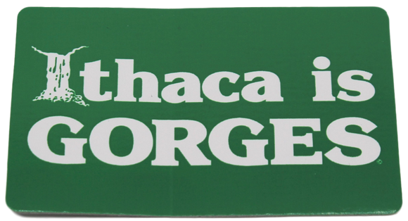 Ithaca Is Gorges Sticker - Small