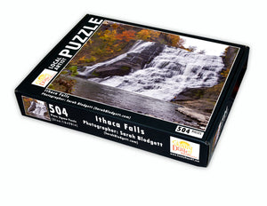 Ithaca Falls in Autumn