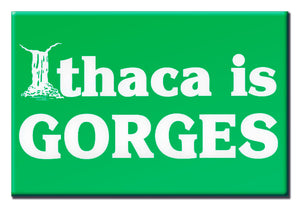 Ithaca Is Gorges (Green) 2X3 Magnet