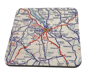 Ithaca Map Coaster