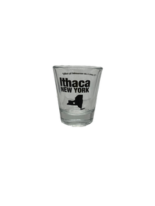 Ithaca New York Shot Glass