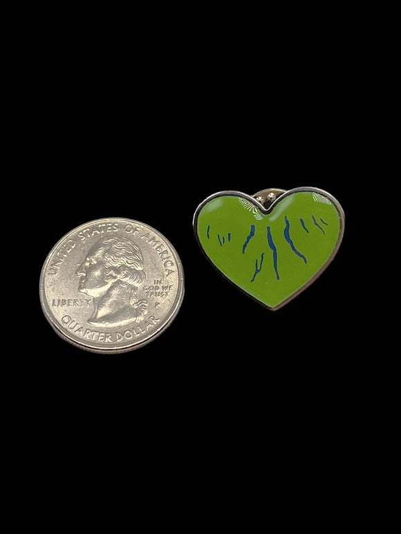 Lapel Pin - Green Heart of the Finger Lakes