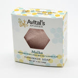 Malka Dead Sea Salt & Honey Soap