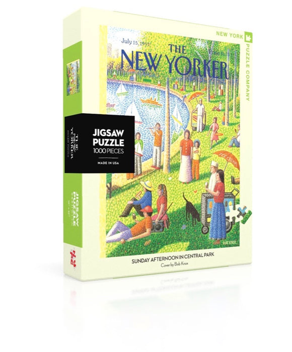 Sunday Afternoon In Central Park Jigsaw Puzzle