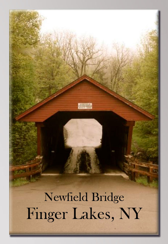 Newfield Bridge 2X3 Magnet