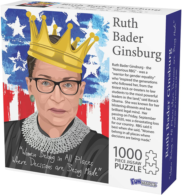 Notorious RBG 1000-Piece Puzzle
