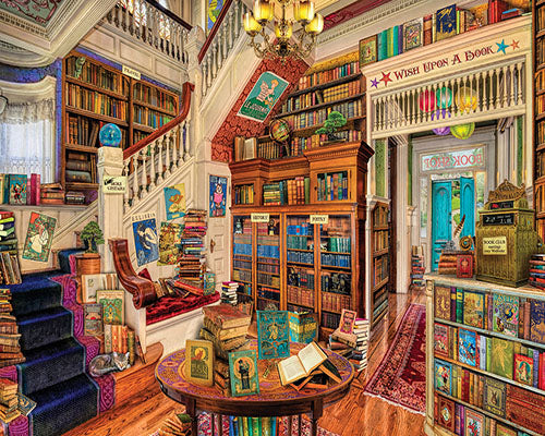 Readers Paradise Jigsaw Puzzle