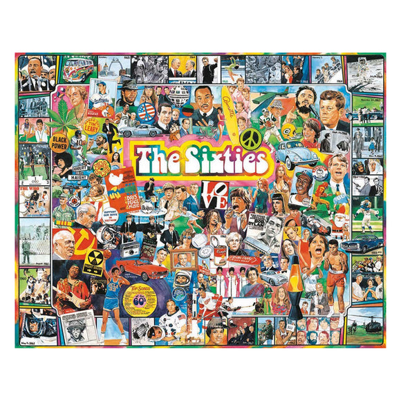 The Sixties Jigsaw Puzzle