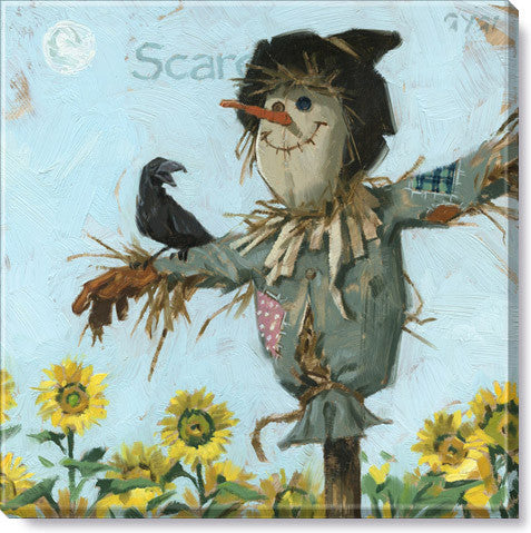Scarecrow #4 by Darren Gygi, Gallery-Wrapped Canvas Giclee Print Wall Art