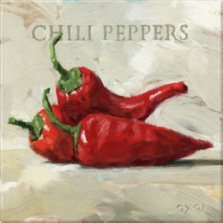 PEPPERS PRINT SET
