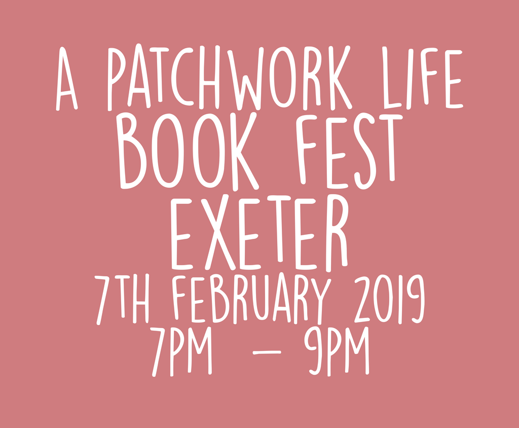 A Patchwork Life Book Tour - Exeter