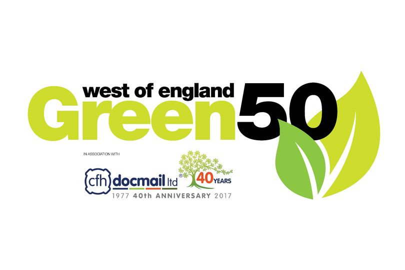 West of England Green 50 Logo